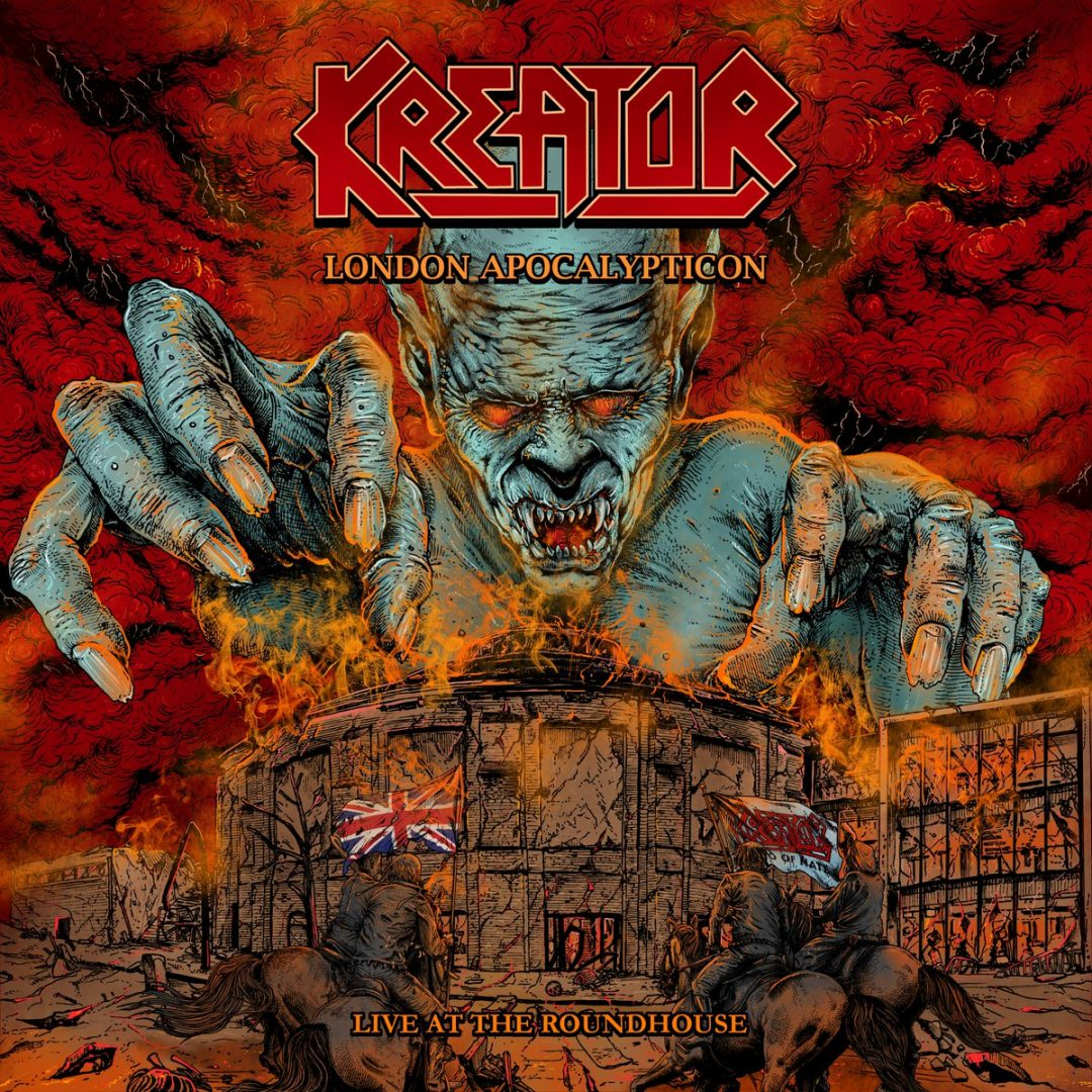 Kreator Take No Prisoners with Their New Live Album