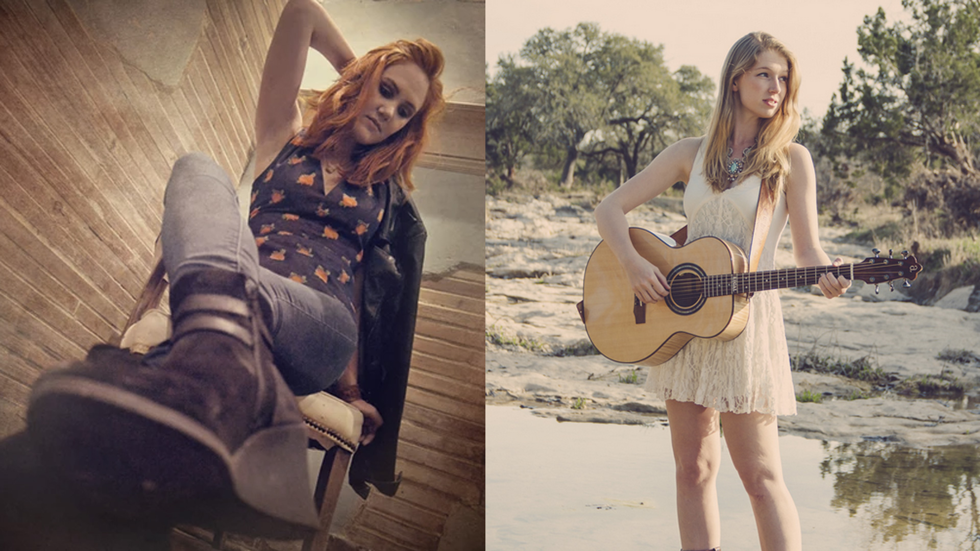 Texas Twosome Grace Pettis and Rachel Laven Round-up the Green Note