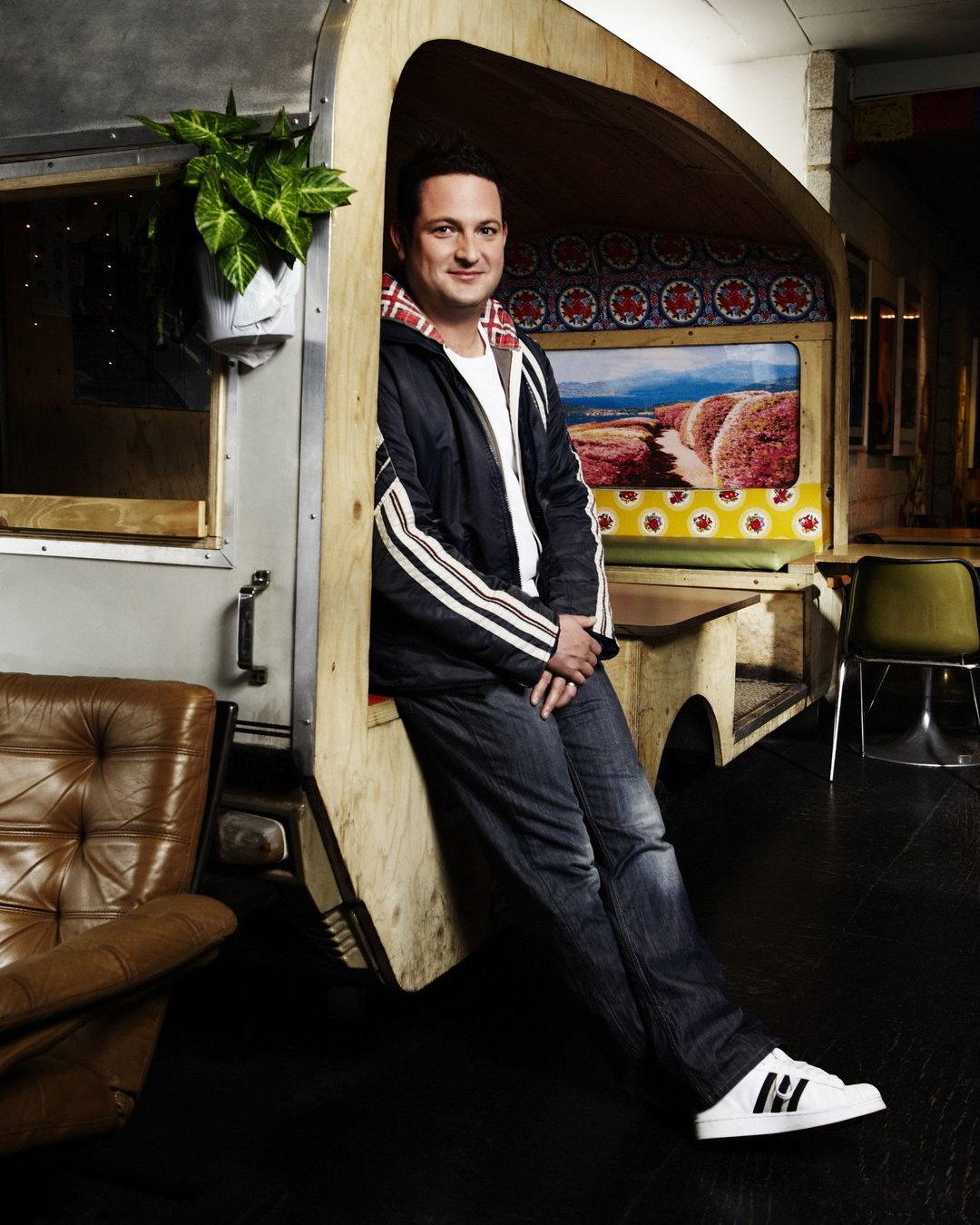 BBC Radio 6 Music Presenter, Chris Hawkins. Photo source: BBC - Photographer: Dean Chalkley